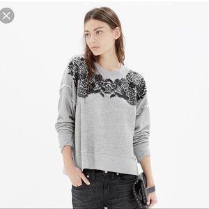 Madewell Leafset sweatshirt. Size S